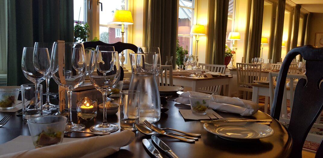 Restaurangens matsal.